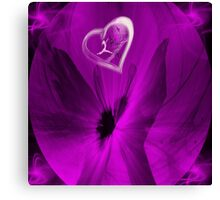 Free-  Art + Products Design -purple Canvas Print