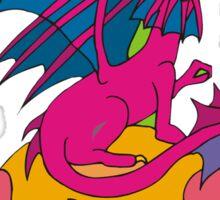 Dragon T-Shirt Sticker
