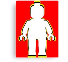 MINIFIG MAN Canvas Print