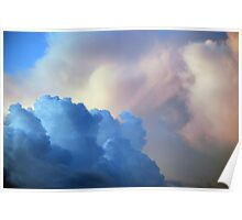 Blue Cloud Poster