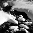 Snow Covered Creek by William Newland