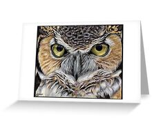 The Look-3 Greeting Card
