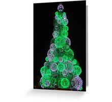 Dublin christmas lights Greeting Card