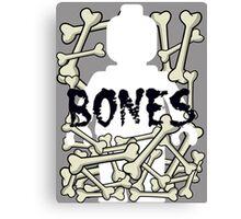 'Minifig Bones' Canvas Print