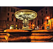 Fountain in Rome Photographic Print