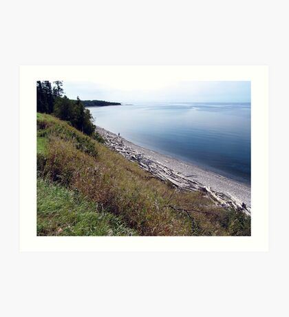 Pebble Beach,Ontario Art Print