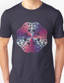 Snow Flake Rainbow Unisex T-Shirt
