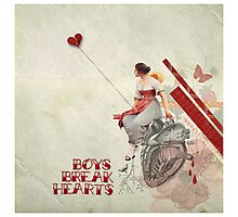Boys Break Hearts Photographic Print