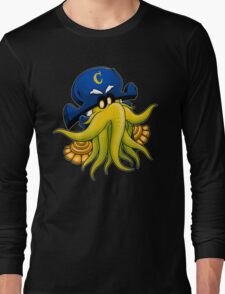 Captain Cthulhu Long Sleeve T-Shirt
