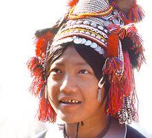 Akha Girl, Northern Thailand by randmphotos
