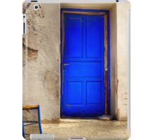 Blue Door iPad Case/Skin