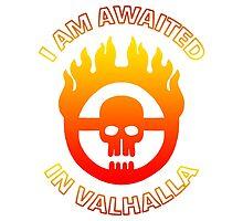 Mad Max - Warboy Skull Wheel - 'I Am Awaited In Valhalla' by MikeTheGinger94