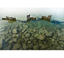 Barriers Fall Photographic Print