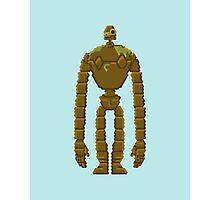 Trixel Laputa Robot Photographic Print
