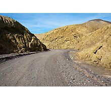 Mustard Canyon Road Photographic Print