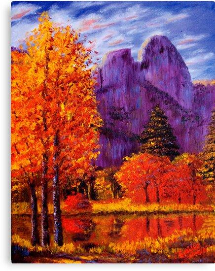 Yosemite Reflections by sesillie