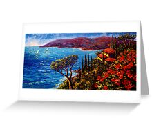 French Riviera Maison Greeting Card