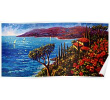 French Riviera Maison Poster