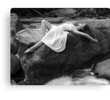 Martha- Rock Layout Canvas Print