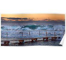 Nth Narrabeen Ocean Baths Poster