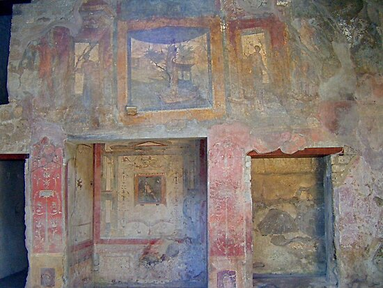 Ruines of Pompeii. by Gabrielle  Hope