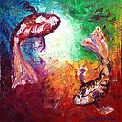 The Two Koi by Abstract D'Oyley