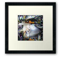 the air on sirius Framed Print