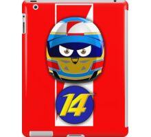 Fernando ALONSO_Helmet 2014 iPad Case/Skin