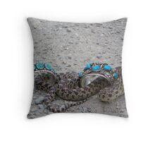 Snake Charms Throw Pillow