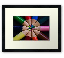 Colour Obsession Framed Print