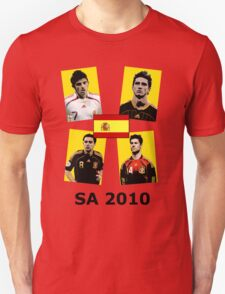 Spain 2010 World Cup Tee T-Shirt