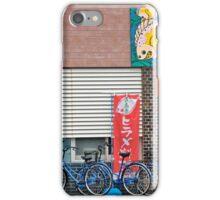 Blue Bikes iPhone Case/Skin