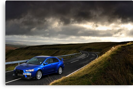 The Mitsubishi Lancer Evo X .... by M-Pics