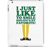 Smiling is my Favorite iPad Case/Skin