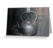 Old Kettle Greeting Card