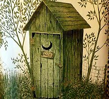 """""""His"""" Kountry Outhouse by wiscbackroadz"""