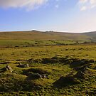 Dartmoor: Hut Circle at White Tor by Rob Parsons