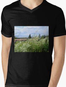 By the Lake Mens V-Neck T-Shirt