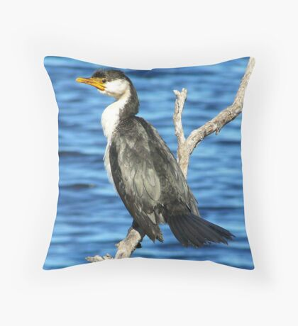 A Safe Perch Throw Pillow