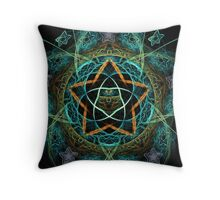Mother star and her babies Throw Pillow