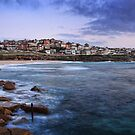 Early Morning at Bronte Beach by Barb Leopold