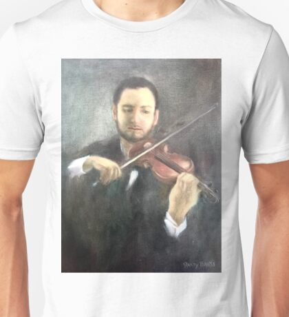 Chris and His Violin Unisex T-Shirt