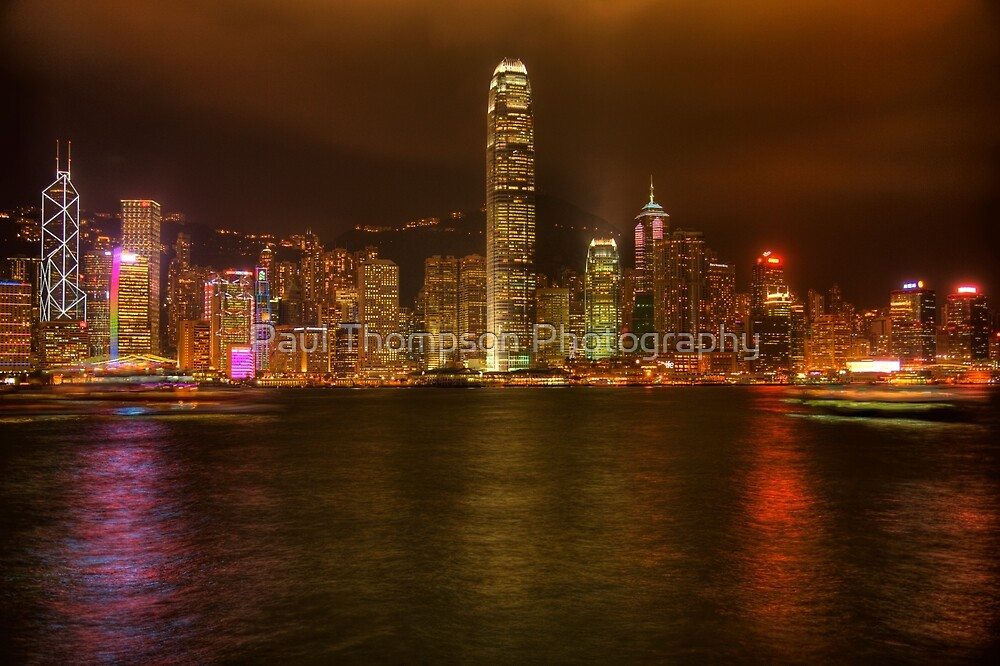 Hong Kong Skyline 1 by Paul Thompson Photography