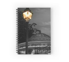 Evening At The Bandstand Spiral Notebook