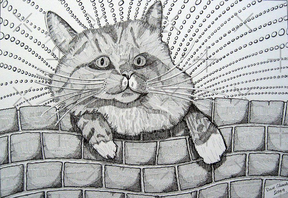 224 - MITCH (STYLISED) - DAVE EDWARDS - INK - 2009 by BLYTHART