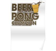 Beer Pong Funny TShirt Epic T-shirt Humor Tees Cool Tee Poster
