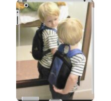 1st day at school iPad Case/Skin
