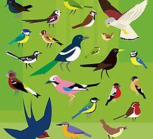 Oh Flock by tigertea