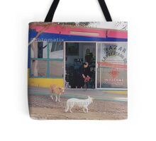 Mexico Dogs HDR  Tote Bag