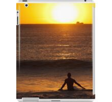 Surfing Sundowner iPad Case/Skin